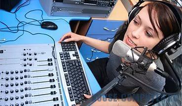 Интернет-радио. Приём звонков от слушателей в эфир.