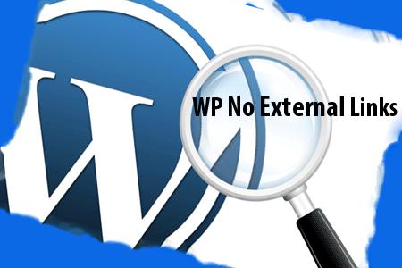 Плагин WP No External Links — польза или вред?