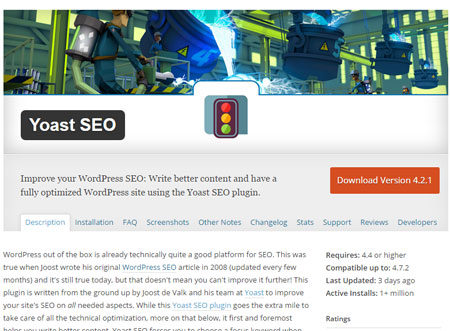 Настройка Wordpress плагина Yoast SEO